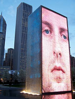 Chicago's Crown Fountain