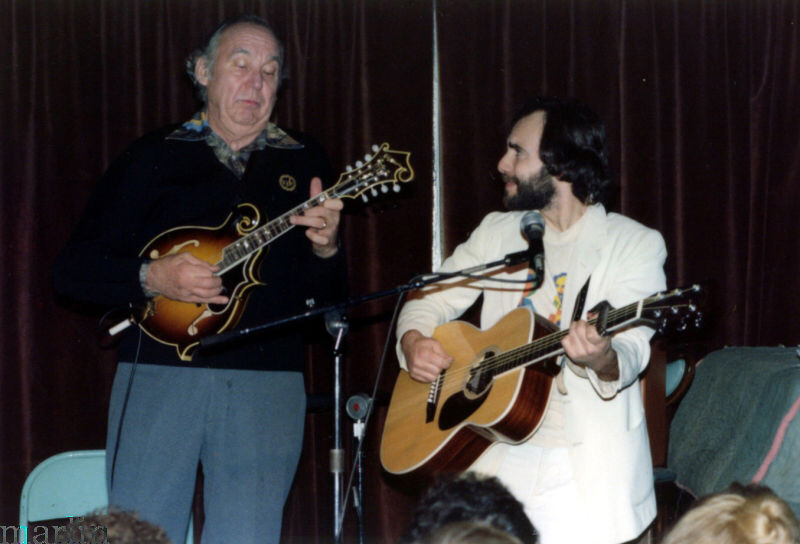 Steve Goodman and Jethro Burns perform at Harry Hope's
