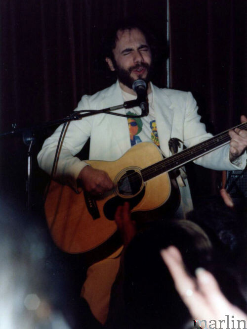 Steve Goodman performs at Harry Hope's