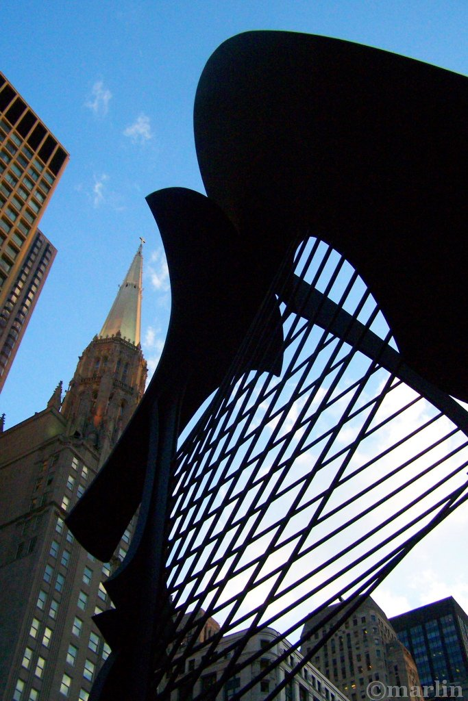 Chicago's Picasso Sculpture